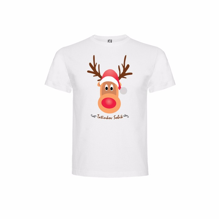 008571154cc6 Vianočné Detské Tričko Tatinkov Sobík